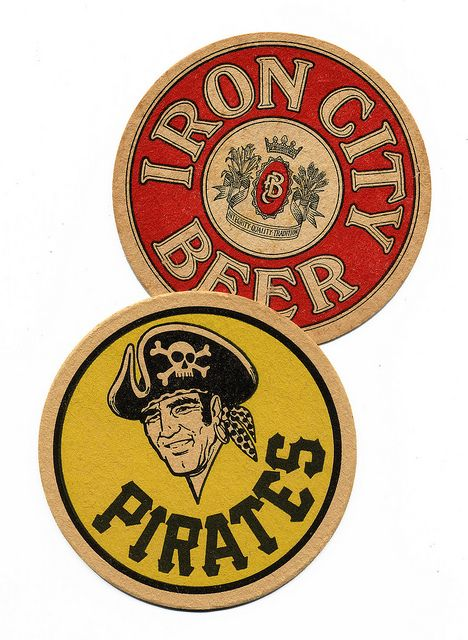 Iron City Beer and the Pittsburgh Pirates. Pittsburgh Brewing Co., Pittsburgh, PA