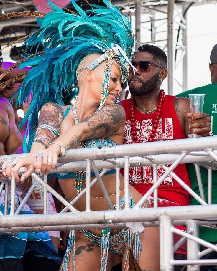 Amber Rose at Carnival | POPSUGAR Celebrity