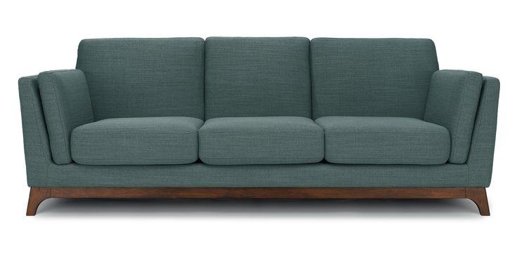 Ceni Aquarius Aqua Sofa - Sofas - Article | Modern, Mid-Century and Scandinavian Furniture