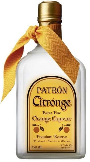 Patron Citronge Liqueur 750ml, 40% - Patron : Tequila Other : TopShelf Liquor Online Alcohol Gift Delivery Nz $59.99