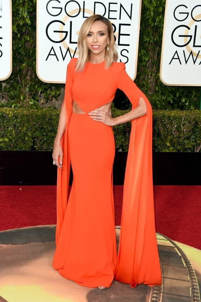 Orange Evening Dresses ,2016 Golden Globes ,Long Sleeve , Red Carpet Dresses, Party Dresses,Pageant Dress, Prom Dresses, Formal Gowns,Evening Dresses ,Gowns From Yoyobridal, $97.91| Dhgate.Com