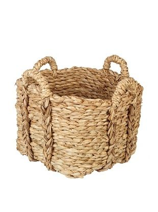 61% OFF Europe2You Small Rush Laundry Basket