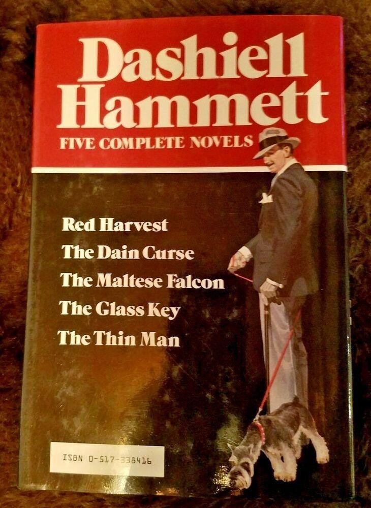 Dashiell Hammett Complete Novels Avenel Books 1980 Hc Dj Maltese Falcon Dashiell Hammett Novels Avenel
