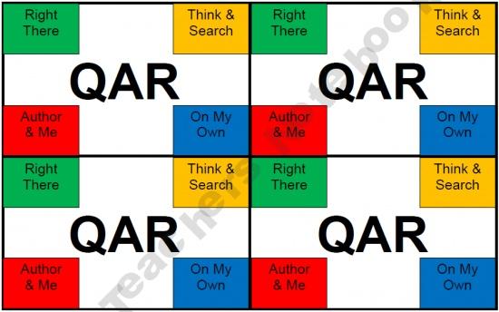 Qar QAR pinch cards...