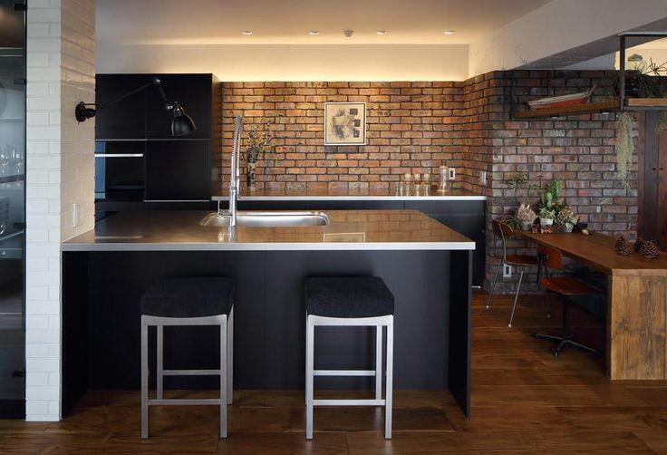 kitchen(上質なブルックリンスタイル) - キッチン事例|SUVACO(スバコ)