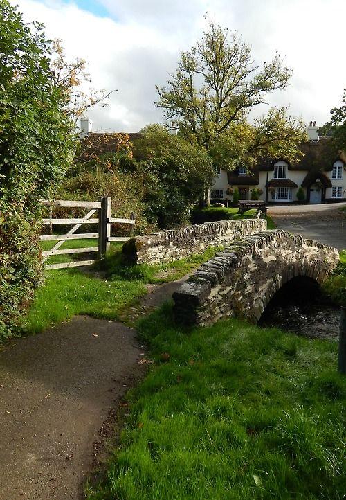 Winsford, Exmoor, Somerset, England, UK