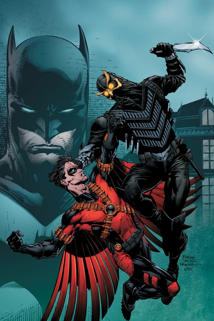 The new 52: Red Robin faces Talon