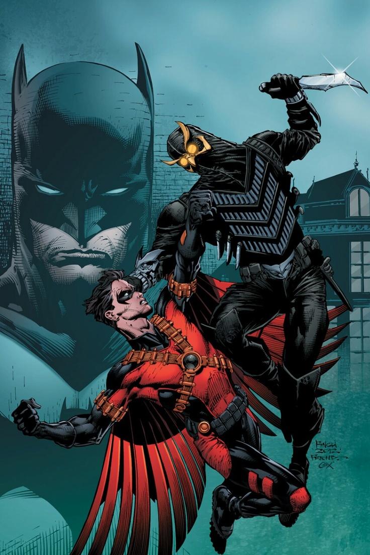 The new 52: Red Robin faces Talon