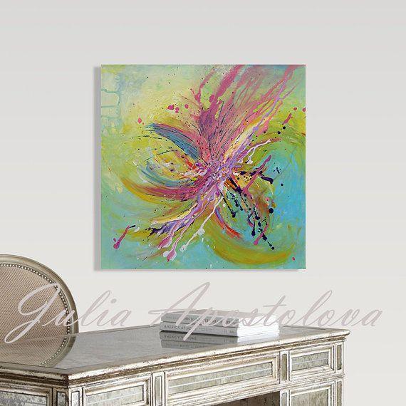 #Originalpainting #GreenAbstract #Art #YellowArt #Pink #painting #Minimalist #MinimalArt #Acrylic #AbstractArt #YellowPainting #LargeWallArt #Minimalofficedecor #officedecor #GreenHomeDecor #JuliaApostolova #Artforsale #Etsy by #JuliaApostolova