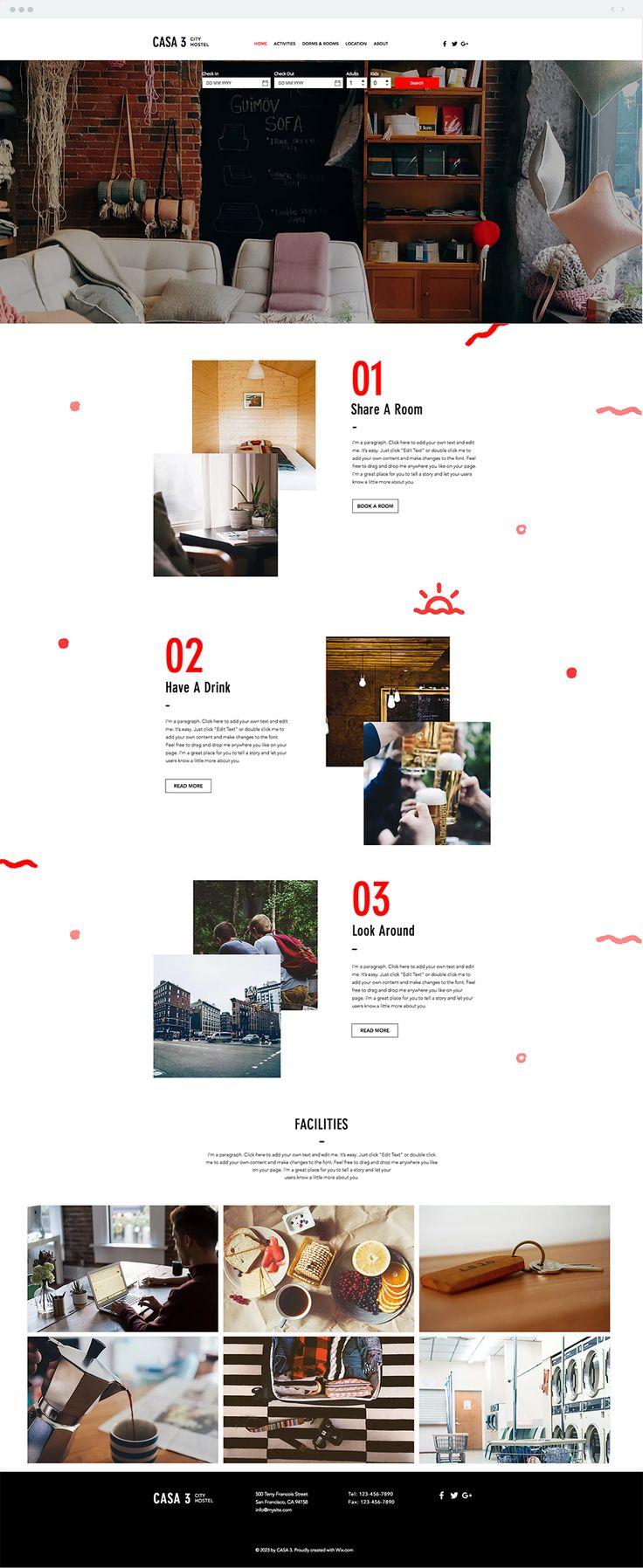 688 best Wix Website Templates images on Pinterest