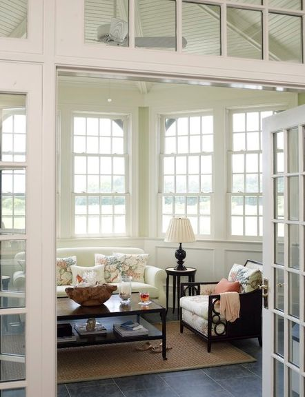 190 best images about conservatory ideas on pinterest for Sunroom breakfast nook