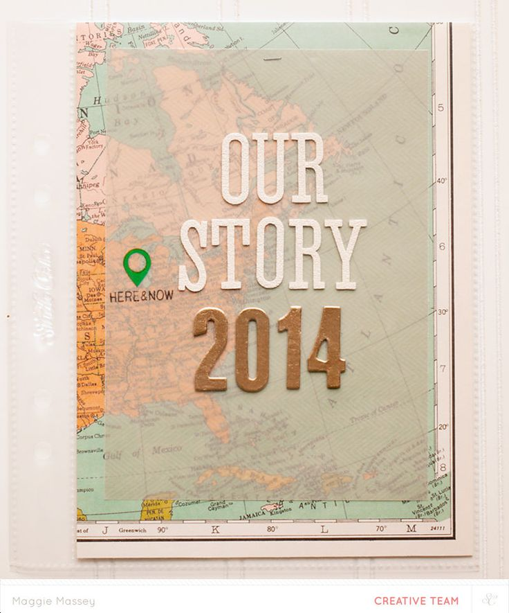 Project Life 2014 Title Page by maggie massey at @Studio_Calico