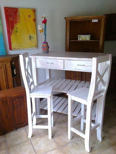 57 best images about muebles desayuno en pinterest for Desayunador pequeno