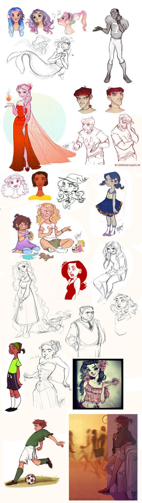 Oodles of Doodles 8 by Britt315 on deviantART