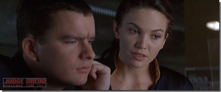 "DIANE LANE..""JUDGE DREED ""..1995   Director: Danny Cannon: Diane Lane, Sylvester Stallone, Armand Assante, Rob Schneider"