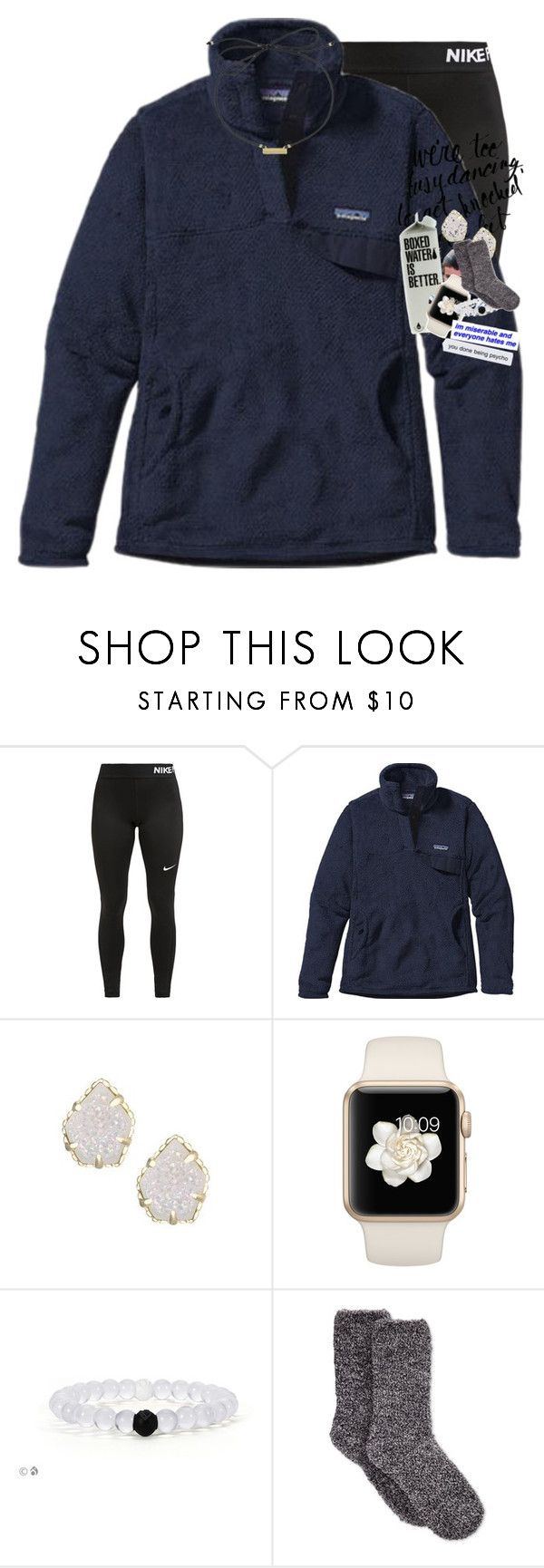 """""""Is it bad I know every song lyric from Charli new album ?"""" by morgankailah ❤ liked on Polyvore featuring NIKE, Patagonia, Kendra Scott and Charter Club"""