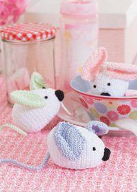 Free crochet pattern: toy mouse