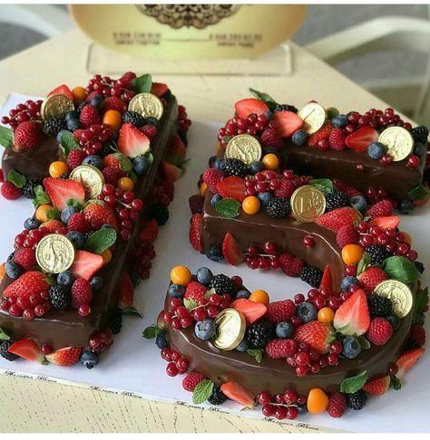 Kuchendekoration Obstideen 17+ Ideen   – Birthday cake
