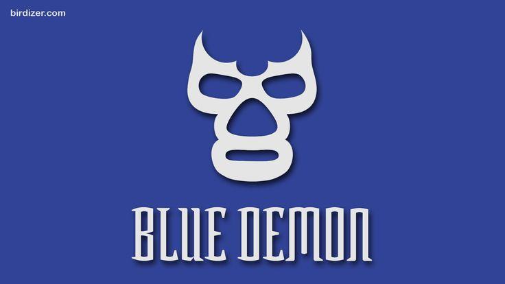 Blue Demon máscara wallpaper