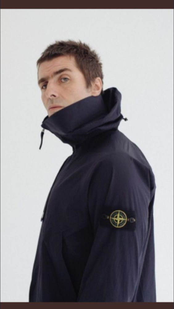 e57151c74829 liam gallagher stone island jacket brand style outfit casual | Oasis ...