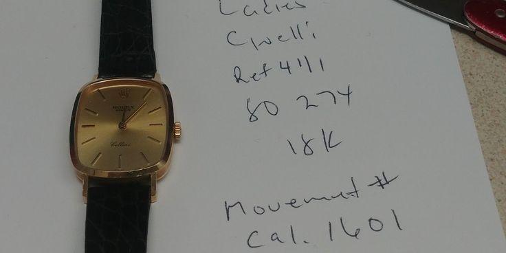 #Forsale #Rolex Cellini Ref 4111 18kt Manual Wind - Price @$760.00