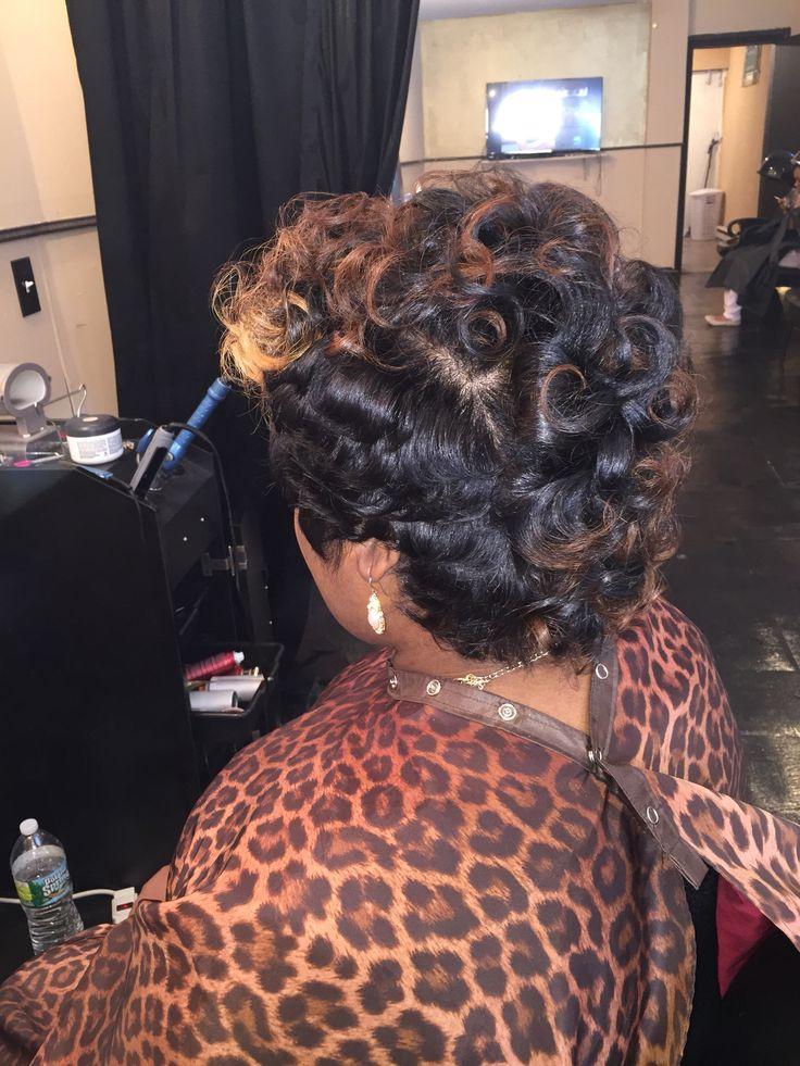 Growing out short hair @ Lavish Hair Studio 273 s 60th street