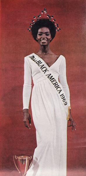 Gloria O. Smith, Miss Black America, 1969.
