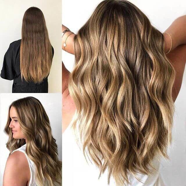50 Brilliant Wavy Hair Ideen Fur Zeitgenossische Schnitte Frauen Blog Capelli Acconciatura Facile Acconciature Ondulate