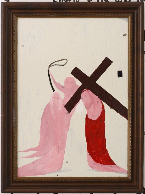 Station 6:Veronica wipes the face of Jesus | Artist: Richard Lewer | 2006