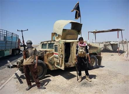 """ISIS TERROR / Iraqi PM Haider Al-Abadi Says Forces Lost 2,300 Humvees to ISIS .. 