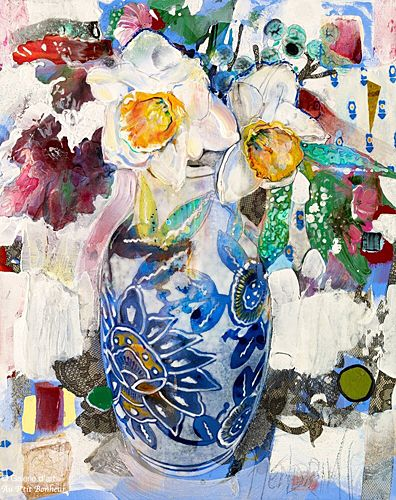 Maryann Hendriks, 'I am a Lover and I am a Sinner', 24'' x 30'' | Galerie d'art - Au P'tit Bonheur - Art Gallery
