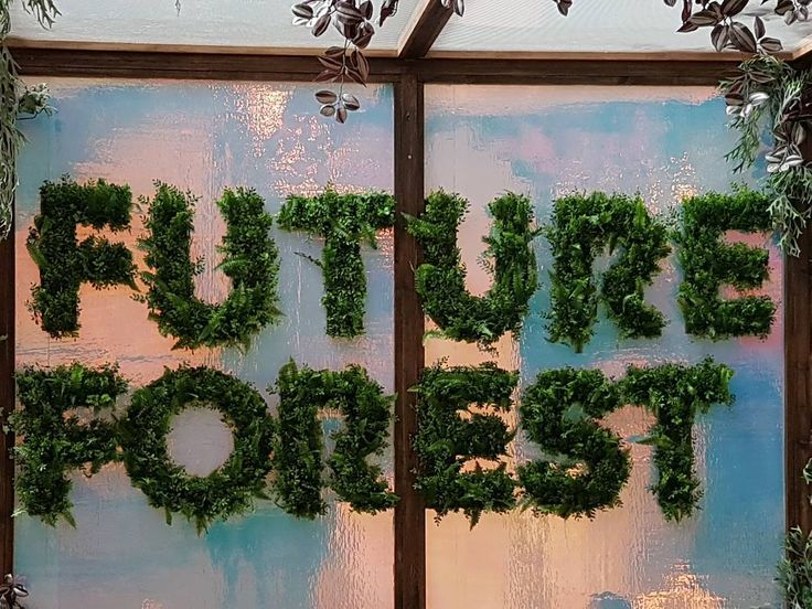 """FUTURE FOREST, Westfield Stratford City, Olympic Park, London, UK, """"An interesting way to create a contemporary and stylish statement"""",  pinned by Ton van der Veer"""