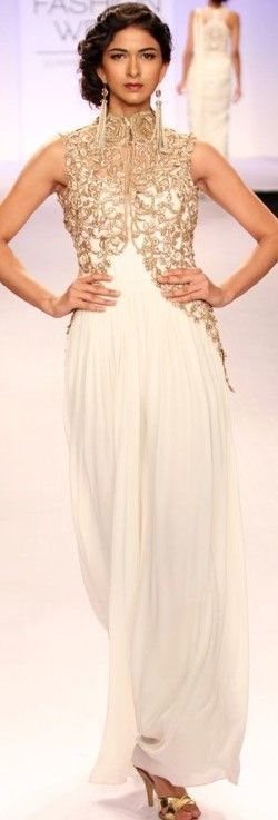 lakme fashion week golden gown - Google Search