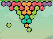 Free Online Puzzle Games, A monkey is driving you bananas and trying to steal your fruit!  In Bunkey, you'll have to stop the chimp by knocking him back down his rope!  Align as many similar colored balls as possible and then launch the seeded bubble to knock the monkey off course!, #bubble #monkey #animal #shooter #match #puzzle