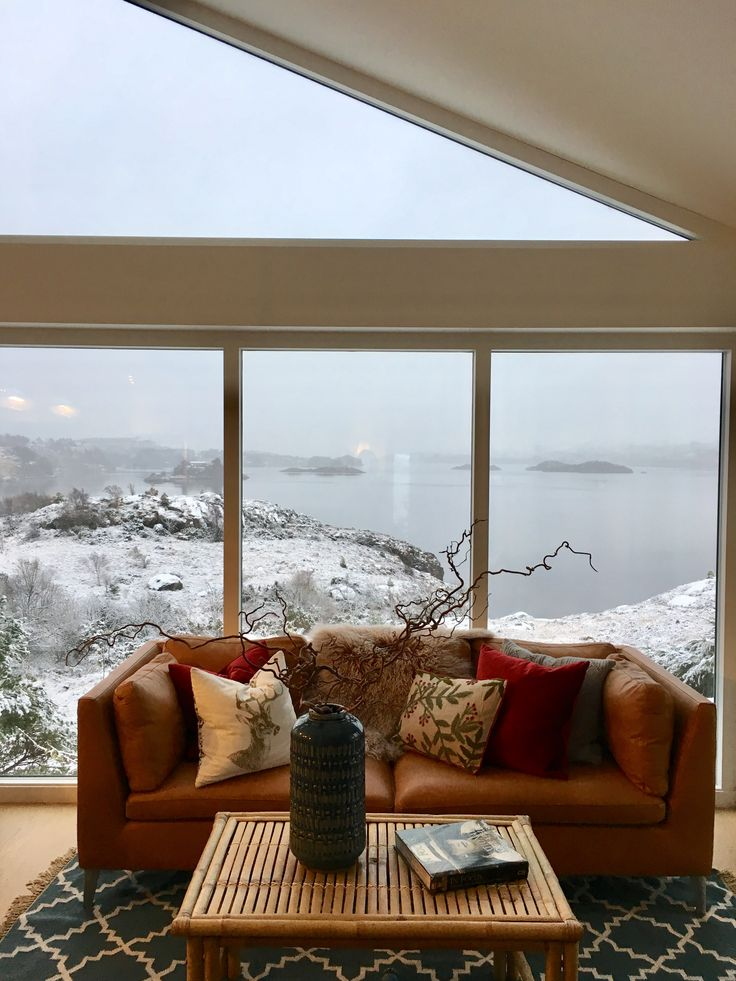 #holidayhome with winter view. #visitnorway