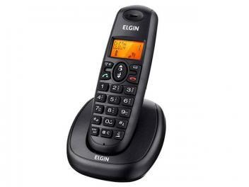 Telefone sem Fio Elgin Expansível até 4 Ramais - Identificador de chamadas - TSF-7001