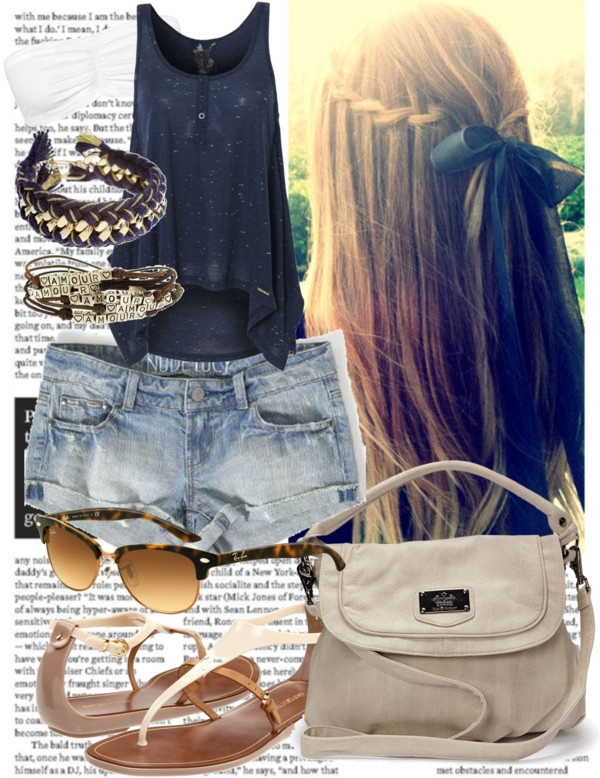 .: Daily Summer, Hairstyles Beautiful, Dreams Closet, Summer Wear, Hair Makeup Clothing, Summer Style, Lady Closet, Summer Outfits, Closet D