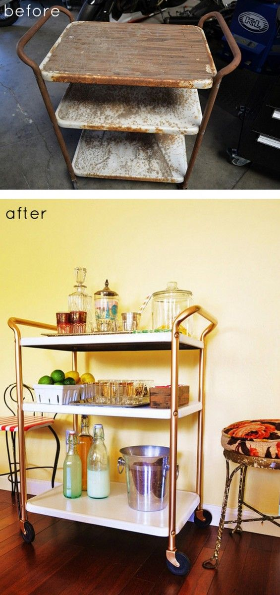 5 Surfaces to Spray Paint: How to spray paint wood, metal, upholstery, fabric, ceramic