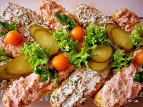 Pasta z makreli wędzonej  - 2 wersje