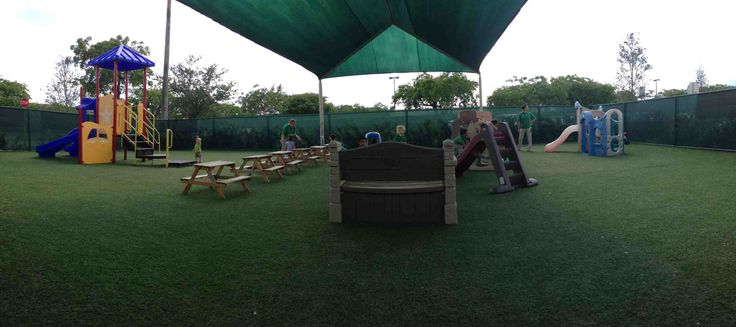 Playground at the Montessori Ivy, Pembroke Pines, FL