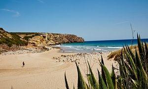 Zavial Beach, Algarve, Portugal