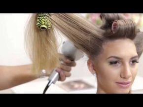 Preparação do Cabelo para Penteados Clássicos - YouTube