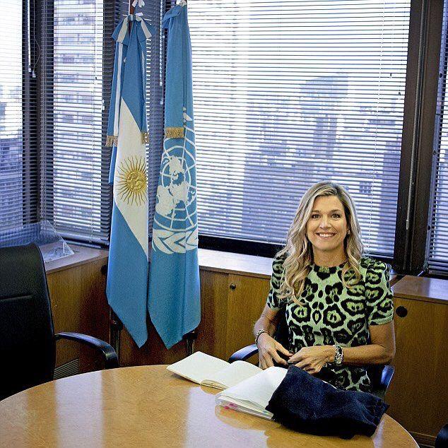 11-10-2016 Koningin Maxima bezoekt Argentinië in haar functie van speciale pleitbezorger van de secretaris-generaal van de Verenigde Naties voor inclusieve financiering voor ontwikkeling (UNSGSA). Queen Maxima visit Argentina in her role as the UN Secretary-General's Special Advocate for Inclusive Finance for Development (UNSGSA).