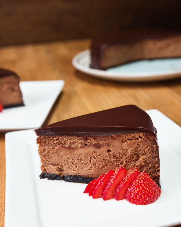 this is really good and easy  Chocolate Mousse cheesecake | Chocolate Mousse Cheesecake