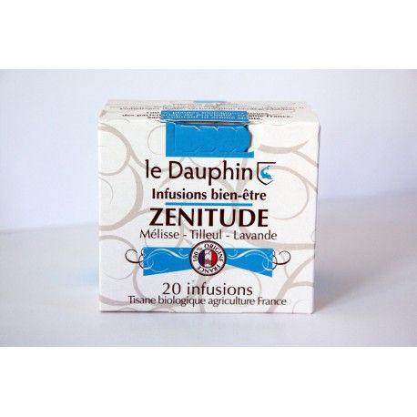 "Tisane bio ""Zénitude"" - Boite 20 infusettes - Le Dauphin"
