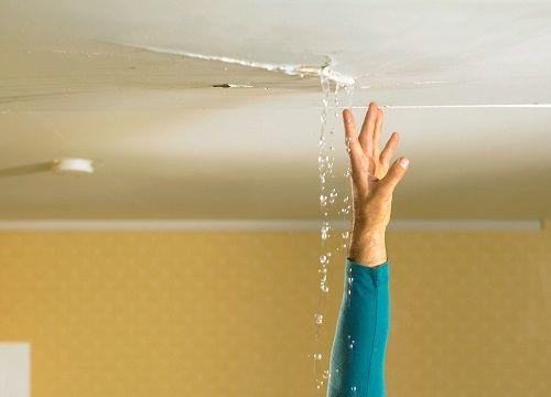 Water Leaking From Ceiling Under Bathroom Causes Effect In 2020 Bathroom Rugs Large Bathroom Rugs Small Bathroom Storage