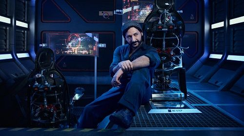 Will enjoy some entertainment here with Cas Anvar as Alex Kamal to have Podcast time with Syfy The Expanse.