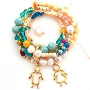 Pulsera Novios Pastel. www.dulceecanto.com - Tienda online de accesorios para mujer - Compra tus accesorios desde la comodidad de tu casa u oficina #accesorios #aretes #collares #pulseras #bolsos #bisuteria #moda #fashion #colombia