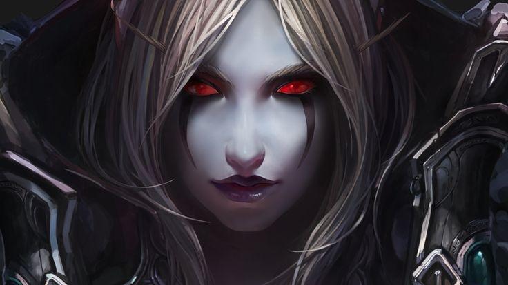 General 1920x1080 World of Warcraft elves Chenbo Sylvanas Windrunner undead Warcraft video games