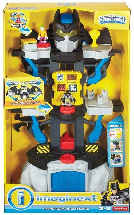 Dc Comics Imaginext Transforming Batcave